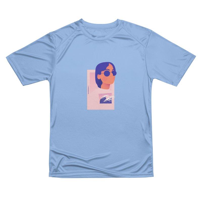 Lady Women's Performance Unisex T-Shirt by theladyernestember's Artist Shop