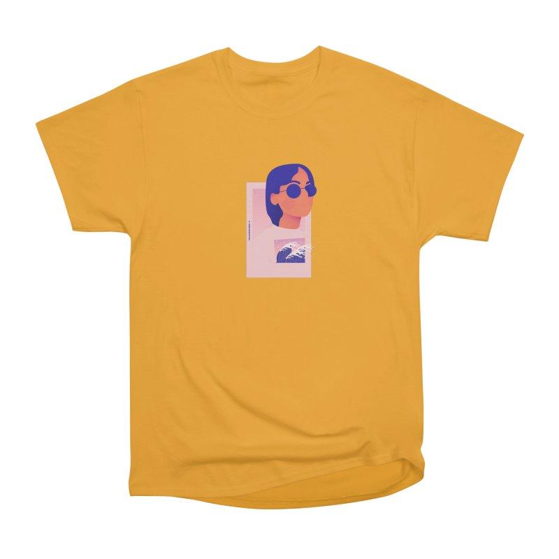 Lady Men's Heavyweight T-Shirt by theladyernestember's Artist Shop