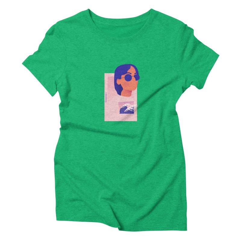 Lady Women's Triblend T-Shirt by theladyernestember's Artist Shop
