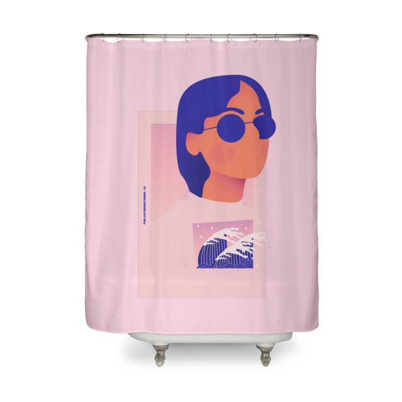 Lady Home Shower Curtain by theladyernestember's Artist Shop