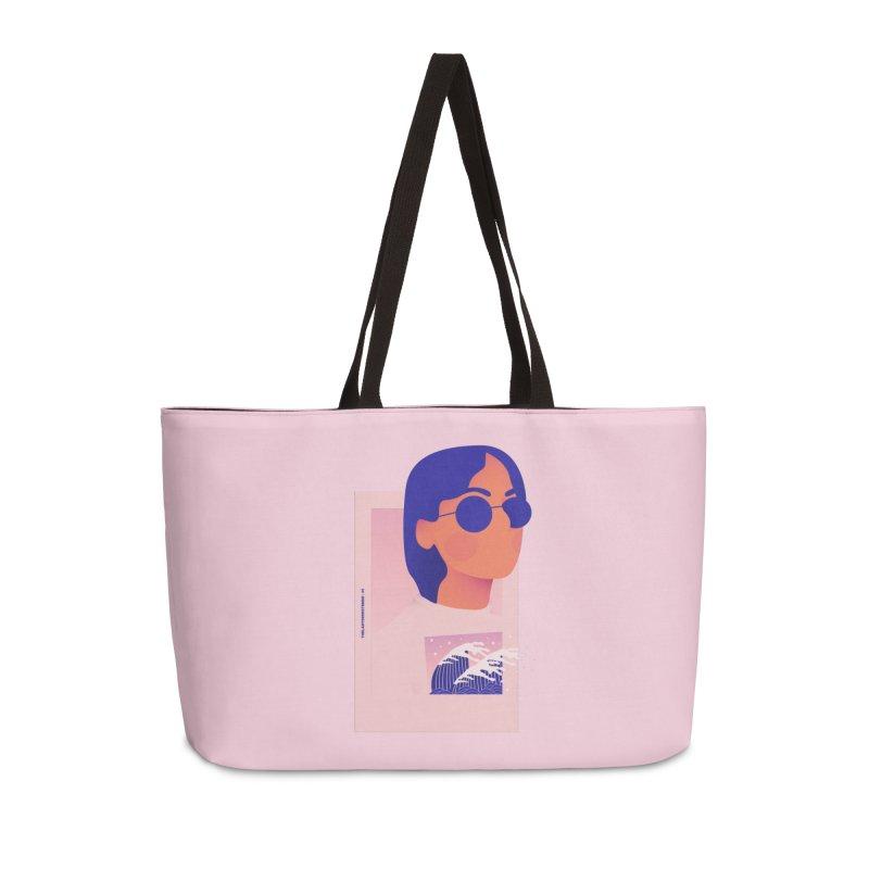 Lady Accessories Weekender Bag Bag by theladyernestember's Artist Shop