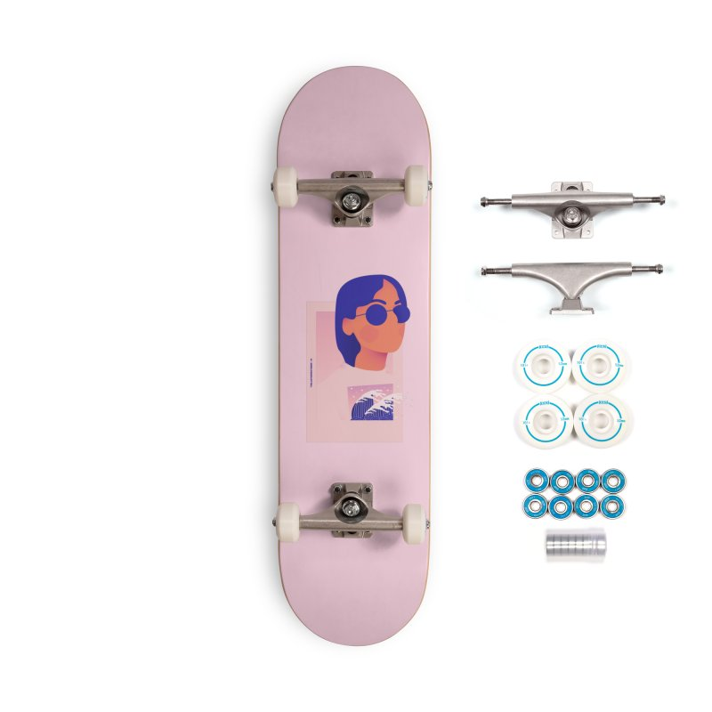 Lady Accessories Complete - Basic Skateboard by theladyernestember's Artist Shop