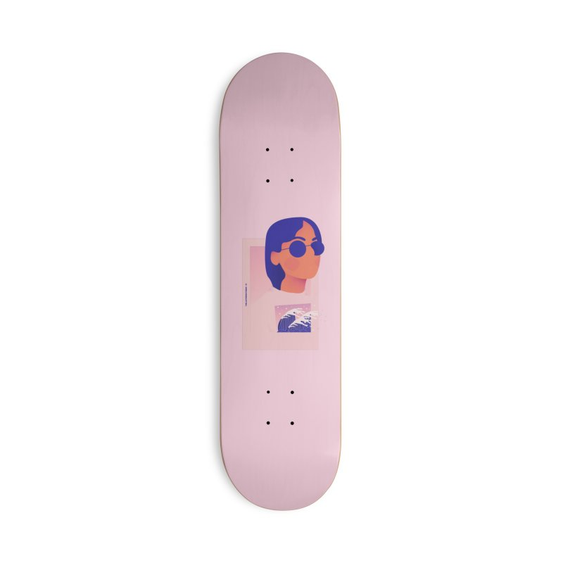 Lady Accessories Deck Only Skateboard by theladyernestember's Artist Shop