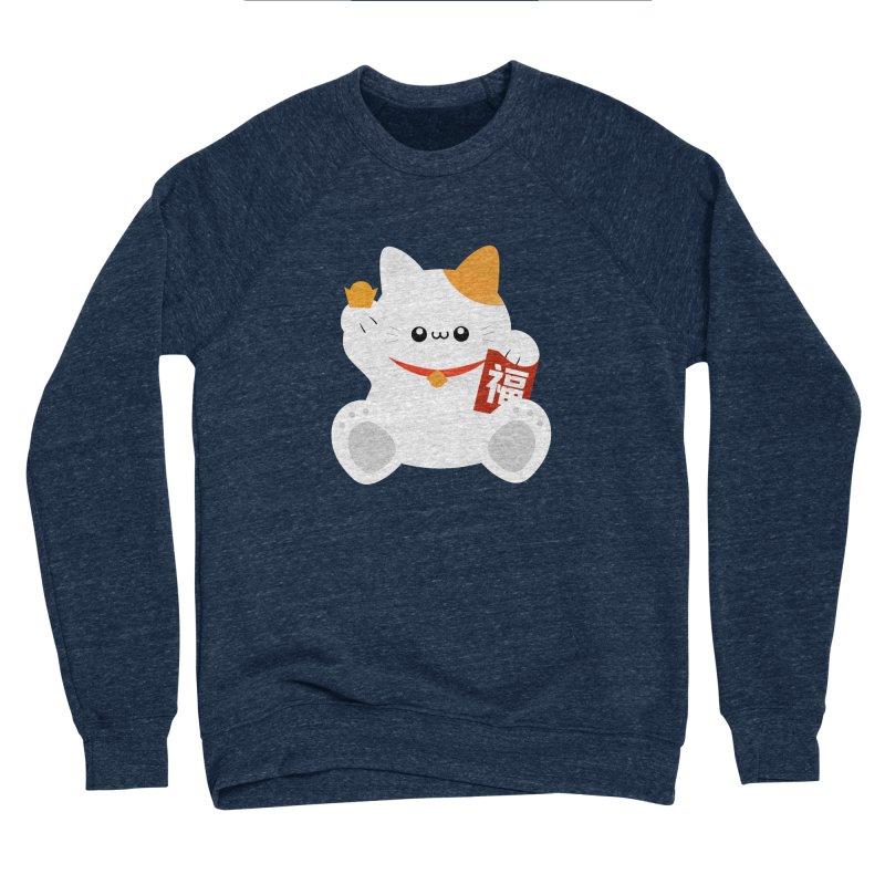 Fortune Cat Women's Sponge Fleece Sweatshirt by theladyernestember's Artist Shop