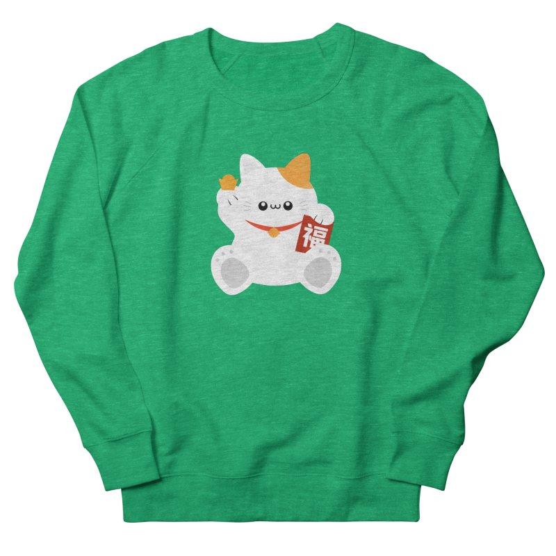 Fortune Cat Women's Sweatshirt by theladyernestember's Artist Shop