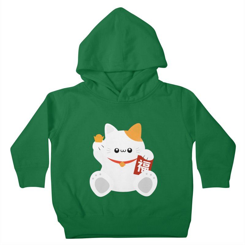 Fortune Cat Kids Toddler Pullover Hoody by theladyernestember's Artist Shop