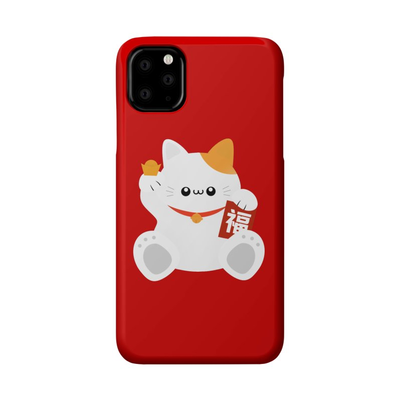 Fortune Cat Accessories Phone Case by theladyernestember's Artist Shop