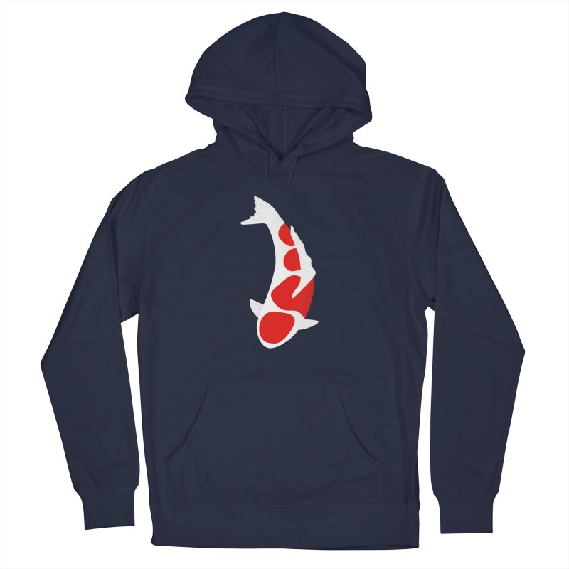 Koi Fish Men's French Terry Pullover Hoody by theladyernestember's Artist Shop