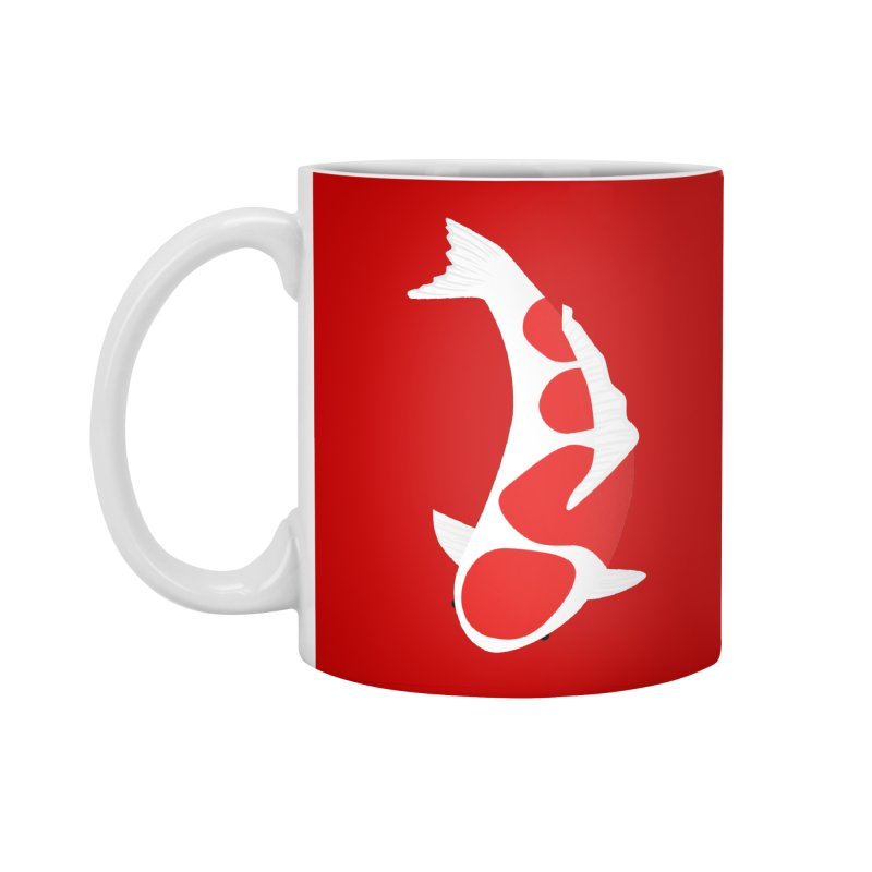 Koi Fish Accessories Standard Mug by theladyernestember's Artist Shop