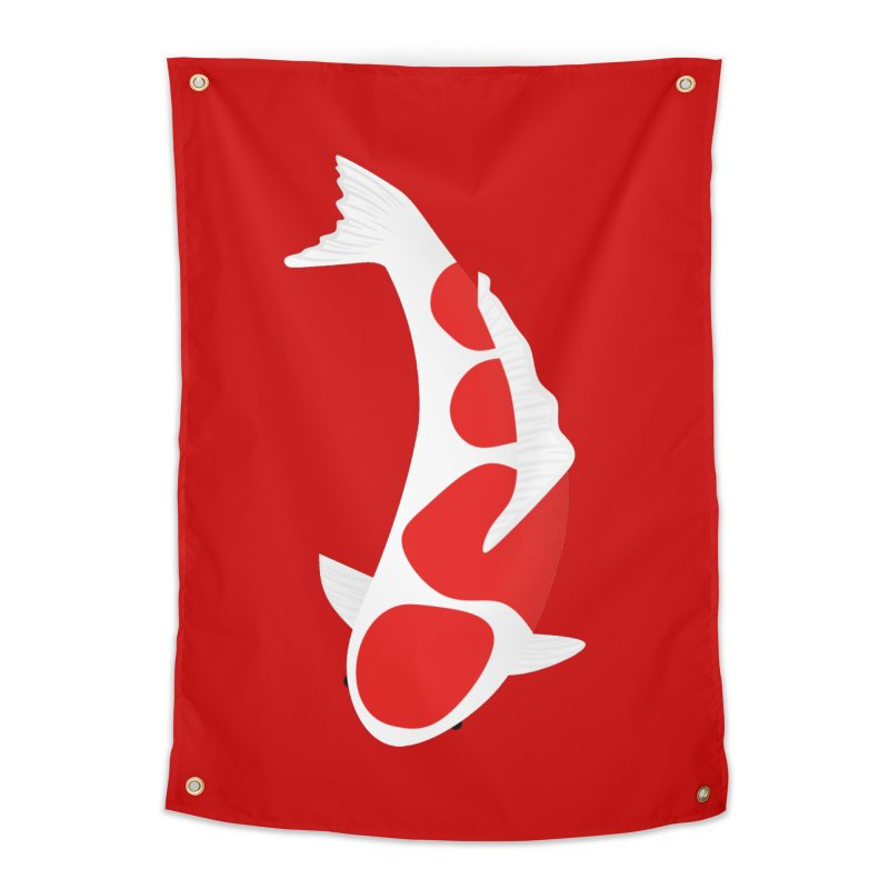 Koi Fish Home Tapestry by theladyernestember's Artist Shop
