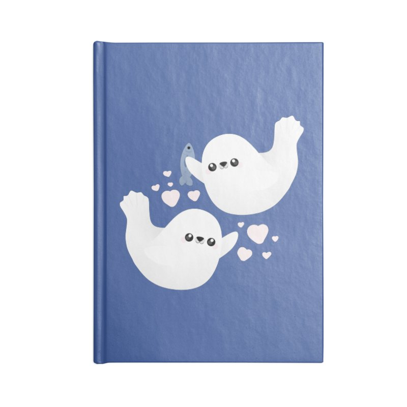 Valentine's Day Accessories Blank Journal Notebook by theladyernestember's Artist Shop
