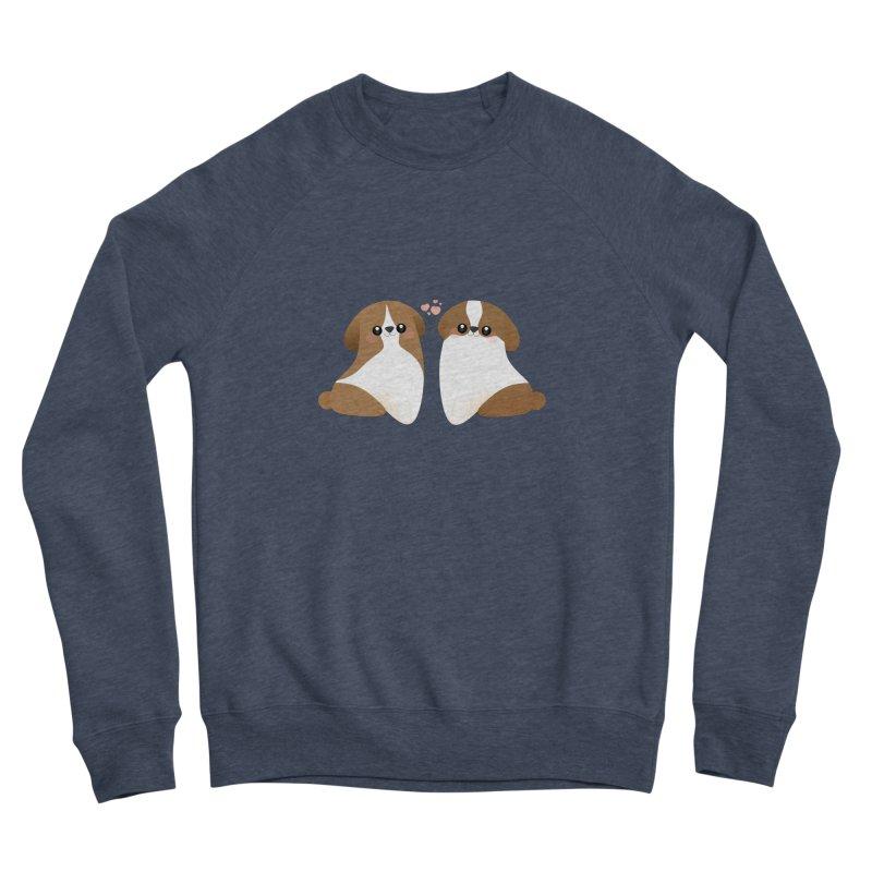 Cute Men's Sponge Fleece Sweatshirt by theladyernestember's Artist Shop