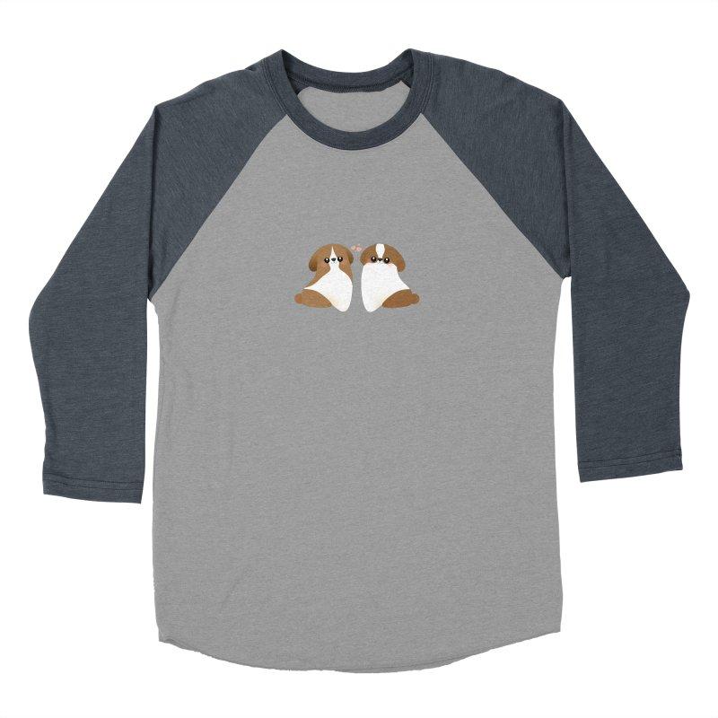 Cute Women's Baseball Triblend Longsleeve T-Shirt by theladyernestember's Artist Shop