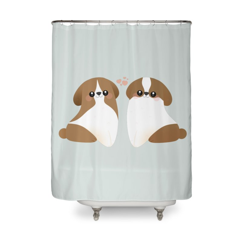 Cute Home Shower Curtain by theladyernestember's Artist Shop