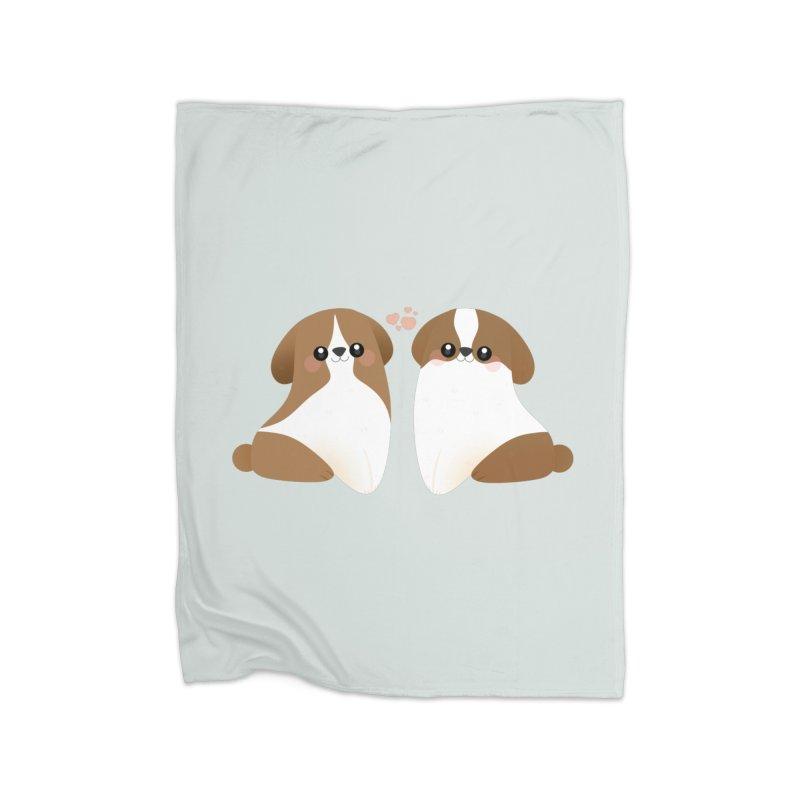 Cute Home Fleece Blanket Blanket by theladyernestember's Artist Shop