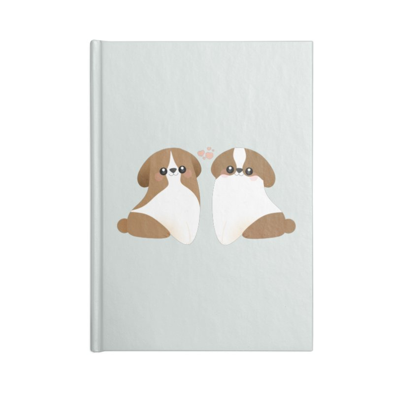 Cute Accessories Lined Journal Notebook by theladyernestember's Artist Shop