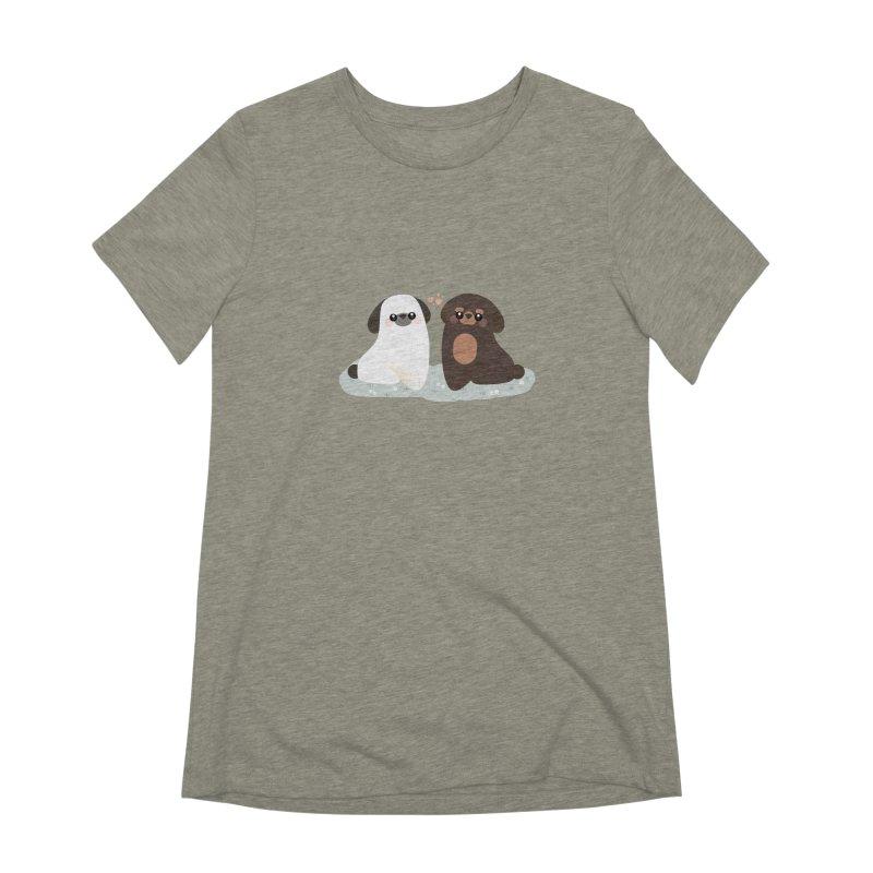 Valentine's Day Women's Extra Soft T-Shirt by theladyernestember's Artist Shop