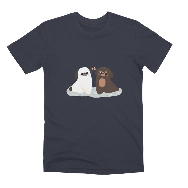 Valentine's Day Men's Premium T-Shirt by theladyernestember's Artist Shop