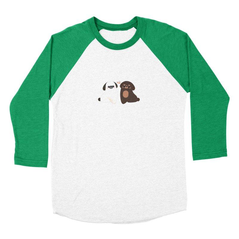 Cute Men's Baseball Triblend Longsleeve T-Shirt by theladyernestember's Artist Shop