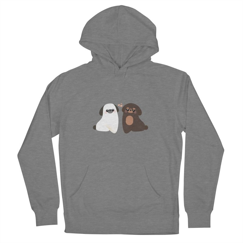 Cute Women's French Terry Pullover Hoody by theladyernestember's Artist Shop