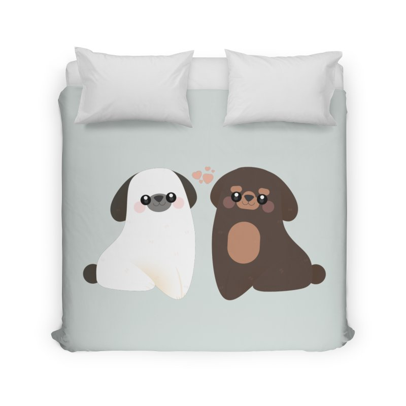 Cute Home Duvet by theladyernestember's Artist Shop