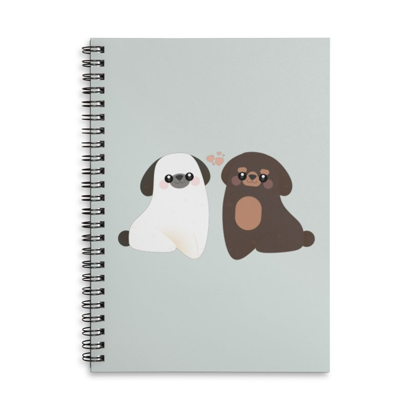 Cute Accessories Lined Spiral Notebook by theladyernestember's Artist Shop