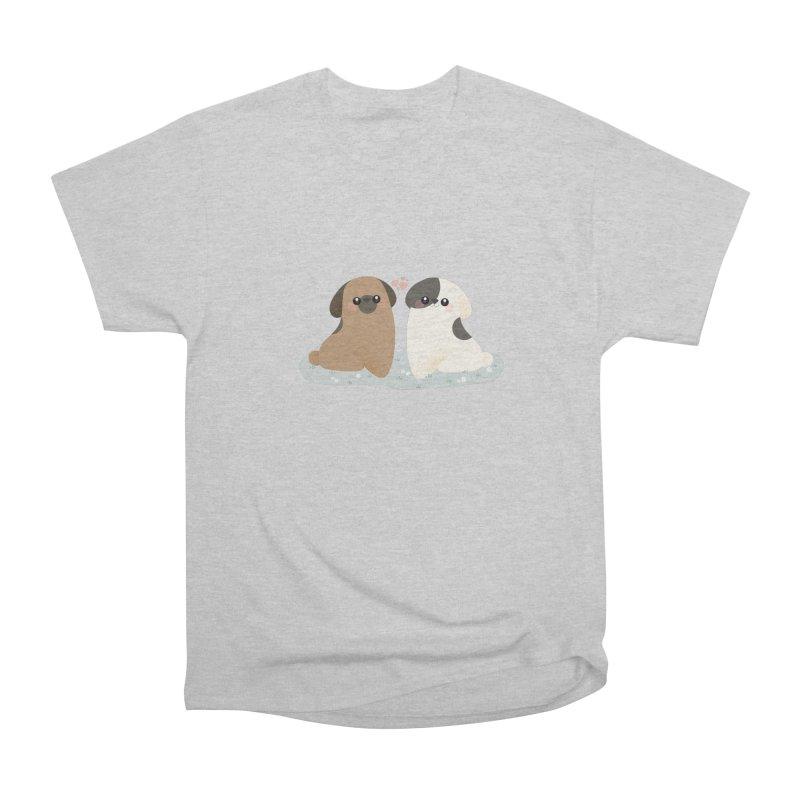 Valentine's Day Men's Heavyweight T-Shirt by theladyernestember's Artist Shop