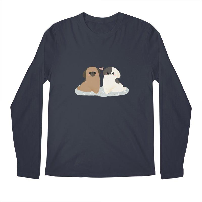 Valentine's Day Men's Regular Longsleeve T-Shirt by theladyernestember's Artist Shop