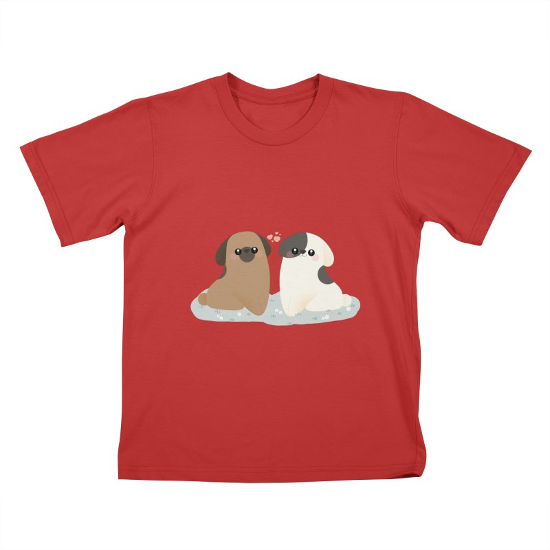 Valentine's Day Kids T-Shirt by theladyernestember's Artist Shop