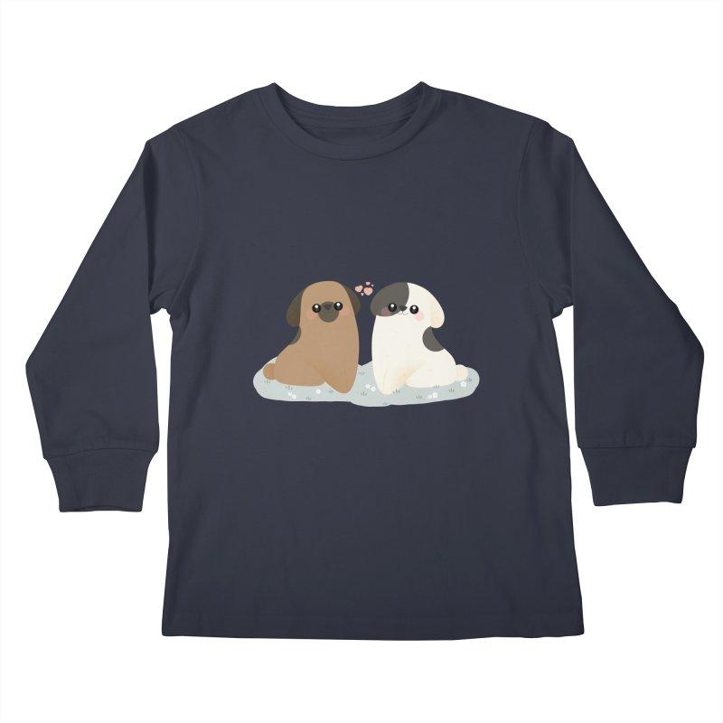 Valentine's Day Kids Longsleeve T-Shirt by theladyernestember's Artist Shop