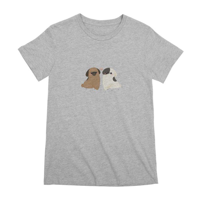 Cute Women's Premium T-Shirt by theladyernestember's Artist Shop