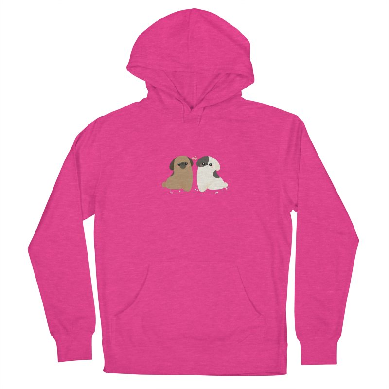 Cute Men's French Terry Pullover Hoody by theladyernestember's Artist Shop