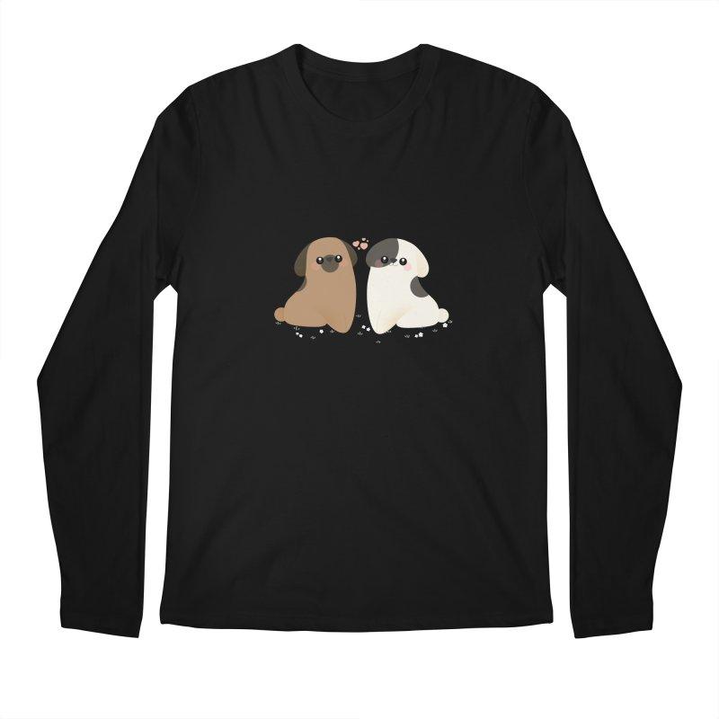 Cute Men's Regular Longsleeve T-Shirt by theladyernestember's Artist Shop