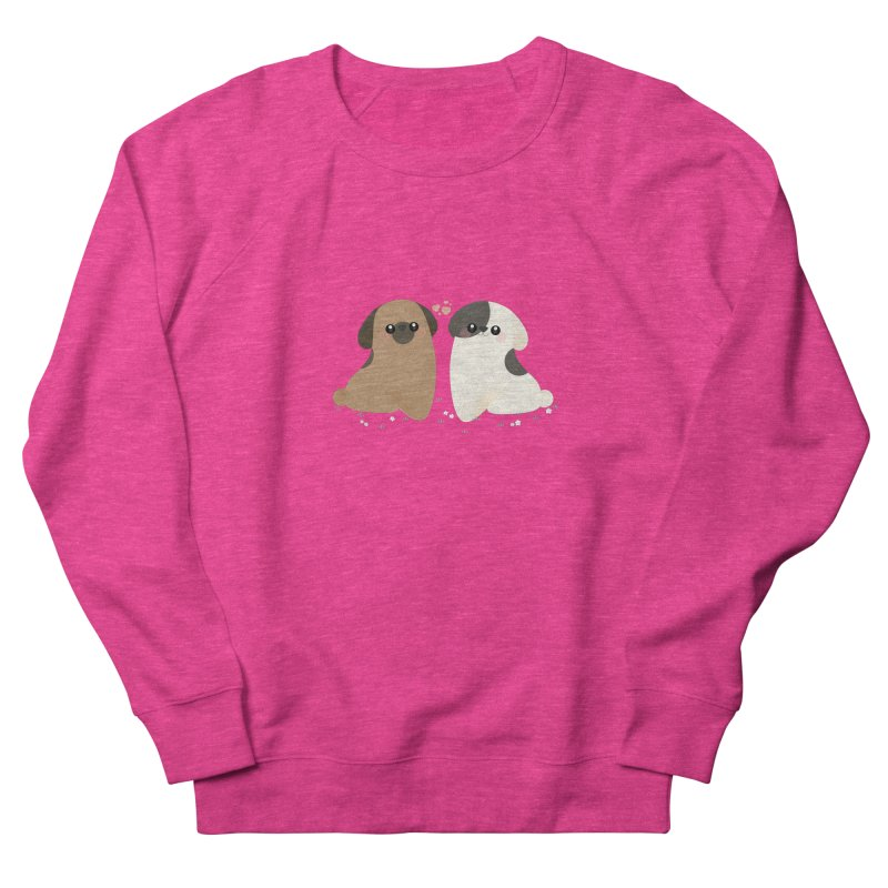 Cute Women's French Terry Sweatshirt by theladyernestember's Artist Shop