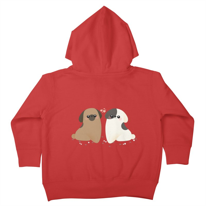 Cute Kids Toddler Zip-Up Hoody by theladyernestember's Artist Shop