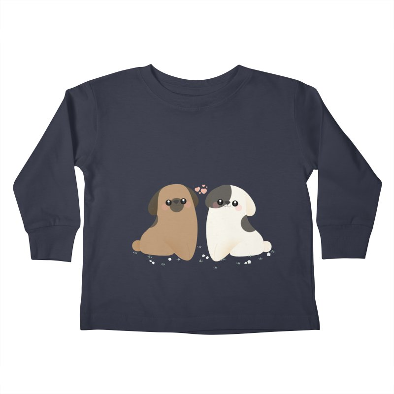 Cute Kids Toddler Longsleeve T-Shirt by theladyernestember's Artist Shop