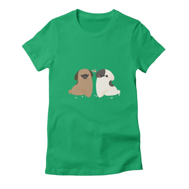 Cute Women's Fitted T-Shirt by theladyernestember's Artist Shop