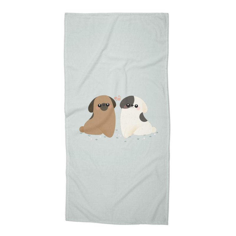 Cute Accessories Beach Towel by theladyernestember's Artist Shop