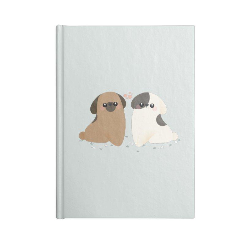 Cute Accessories Blank Journal Notebook by theladyernestember's Artist Shop