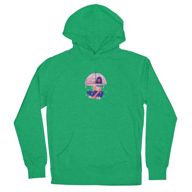 Lady Men's French Terry Pullover Hoody by theladyernestember's Artist Shop