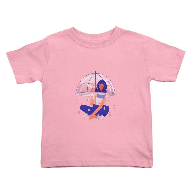 Lady Kids Toddler T-Shirt by theladyernestember's Artist Shop