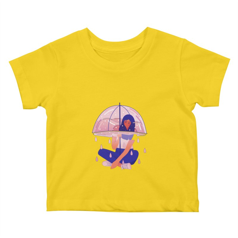 Lady Kids Baby T-Shirt by theladyernestember's Artist Shop