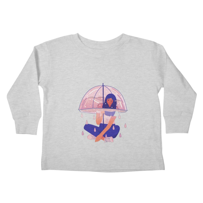 Lady Kids Toddler Longsleeve T-Shirt by theladyernestember's Artist Shop