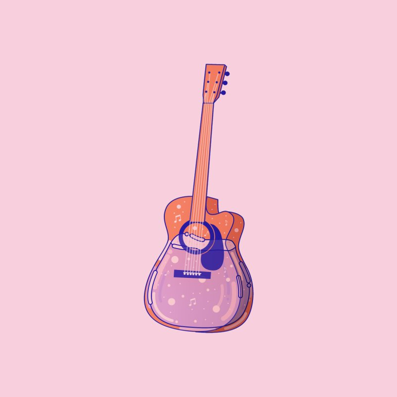 Guitar by theladyernestember's Artist Shop