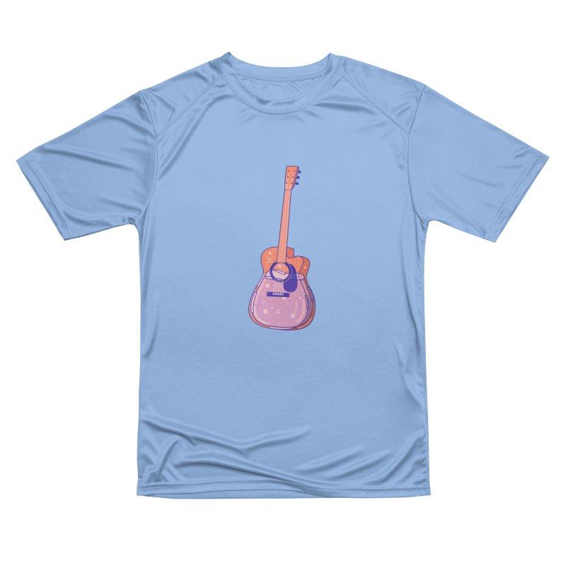 Guitar Women's Performance Unisex T-Shirt by theladyernestember's Artist Shop