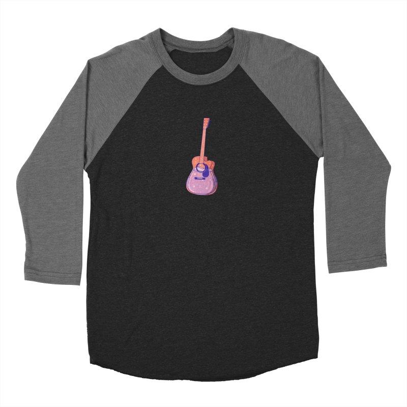 Guitar Men's Baseball Triblend Longsleeve T-Shirt by theladyernestember's Artist Shop