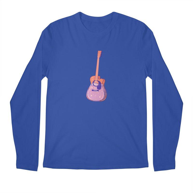 Guitar Men's Regular Longsleeve T-Shirt by theladyernestember's Artist Shop