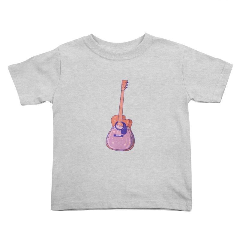 Guitar Kids Toddler T-Shirt by theladyernestember's Artist Shop