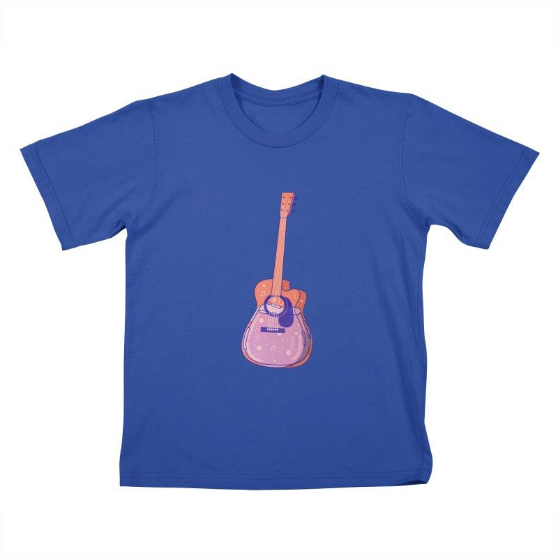 Guitar Kids T-Shirt by theladyernestember's Artist Shop