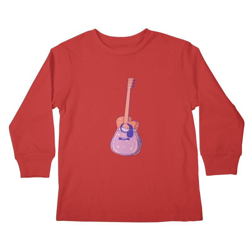 Guitar Kids Longsleeve T-Shirt by theladyernestember's Artist Shop